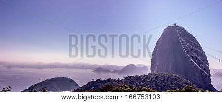 Sugarloaf Mountain Rio Brazil South America and surrounding islands