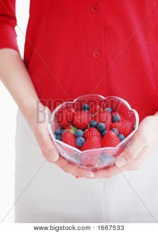 Nice And Fresh Strawberries