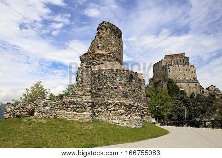 Sacra di San Michele of Piedmont, landmark pilgrimage site in Italy