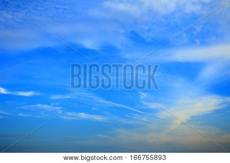 beautiful Sky and cloud background .blue skyy