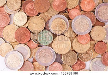 European Euro Currency Texture