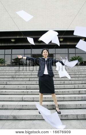 business women cast her files