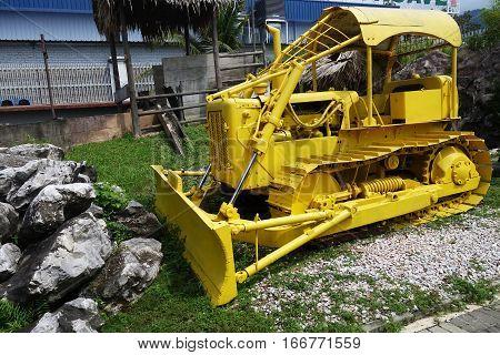 Machine In Kinta Tin Mining Museum In Kampar, Malaysia