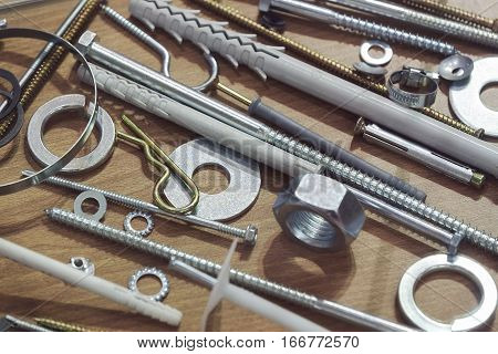 Screws, Nuts, Clamps ...