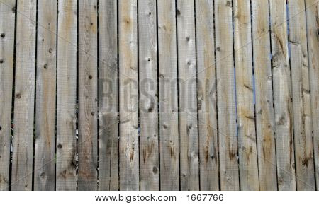 Wooden Vertical Slats