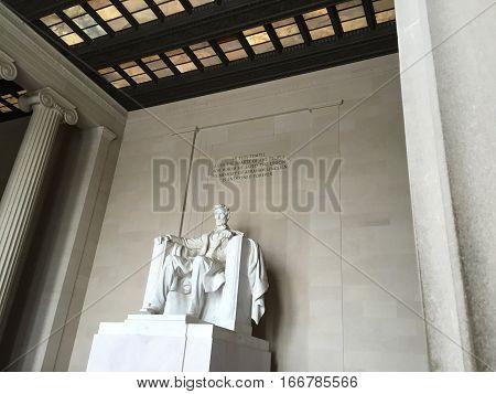 Washington DC USA Capital Lincoln Memorial Monument
