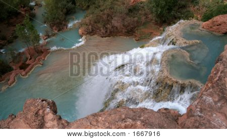 On Top Of Havasu Falls