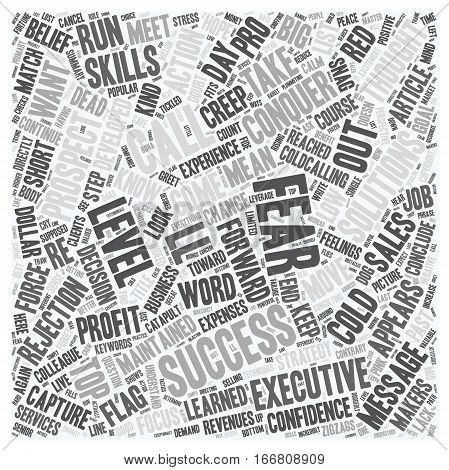 How You Can Conquer Fear and Capture Profits text background wordcloud concept