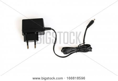 AC adapter on a white background