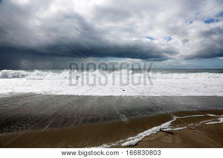 the pacific ocean. laguna beach California.