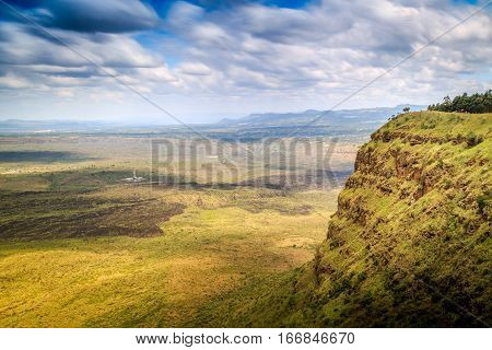 Beautiful Landscape Of Menengai Crater, Nakuru, Kenya