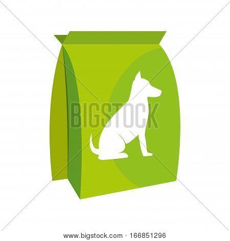 dog bag food icon vector illustration design