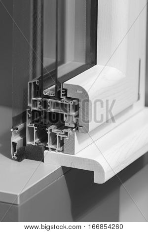 Aluminum Window Frames With Shutters