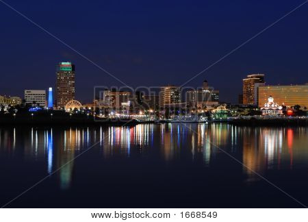 Long Beach California Skyline
