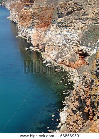 Kaliakra - long and narrow headland in the Southern Dobruja region of the northern Bulgarian Black Sea Coast.