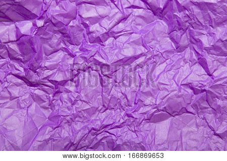 violet tissue paper texture for background, copy space