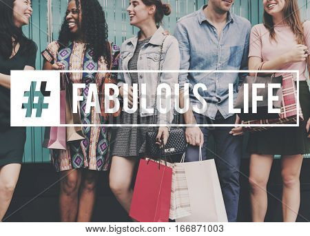 Commerce Fabulous Life Shopping Together