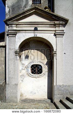 Italy  Sumirago    Entrance And Mosaic