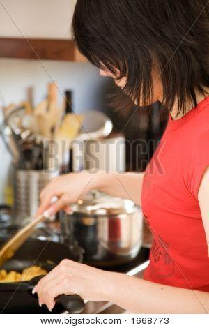 Cooking Healthy Food
