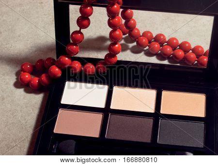 Matte eyeshadow cosmetic set