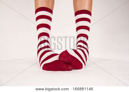 Isolated Pair Of Socks