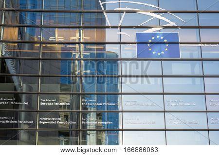 European Parliament in Brussel
