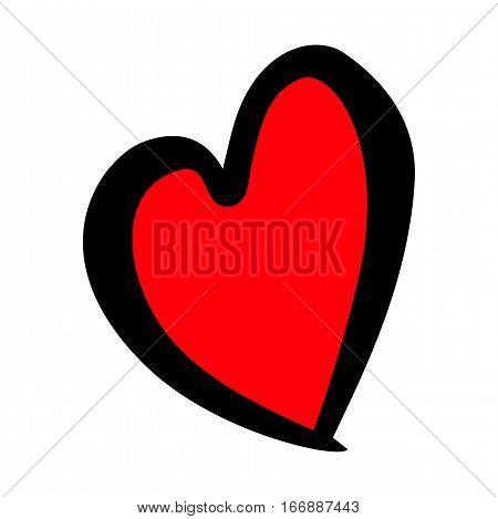 Red hearts set, Valentine day love adult xxl vintage wedding  invitation design logo