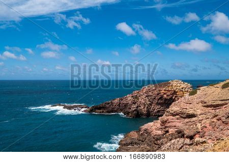 Portugal - Cliffs And Atlantic Ocean