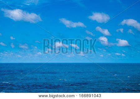 Portugal - Atlantic Ocean Underneath Blue Sky