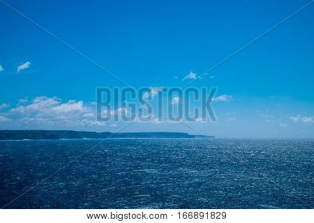Portugal - Blue Hue Over Ocean And Sky
