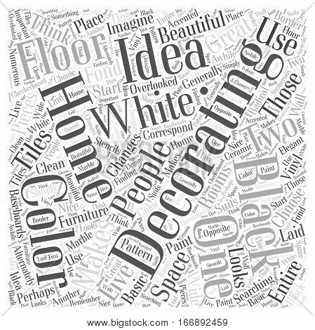Ideas For Decorating A Home Word Cloud Concept