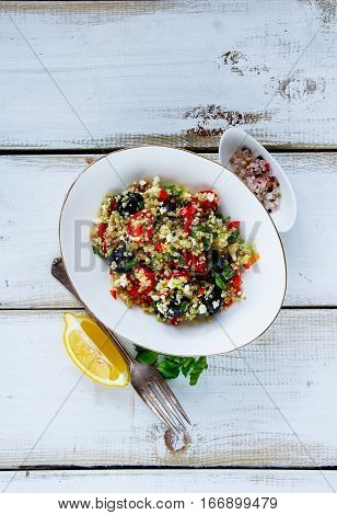 Healthy Quinoa Salad