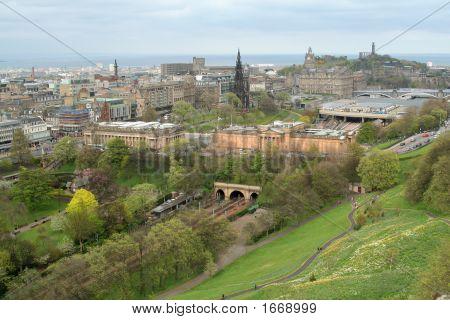 Edinburgh From The Castle (3)