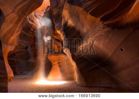 Antelope Slot Canyon  In Page Az