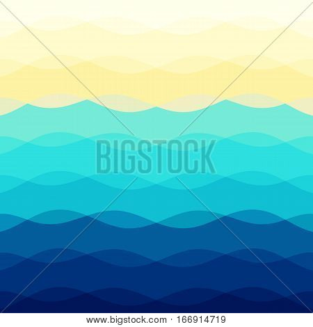 Abstract colorful background with curve lines, stock vector