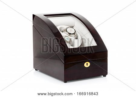 automatic watch winder rotator storage box for luxury watch