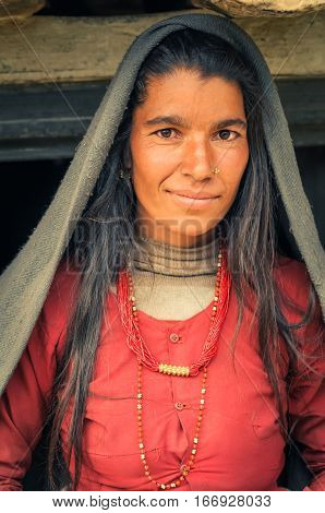 Pretty Woman In Nepal