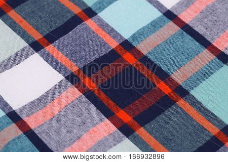 Colorful fabric texture background close up picture.