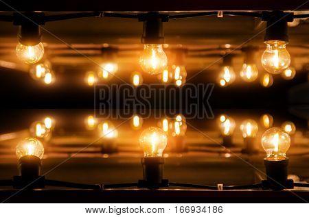 Decoration Light On House