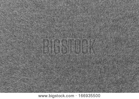 background and texture of gray color of fleece fabric of big resolution