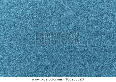 background and texture of turquoise azure color of fleece fabric of big resolution