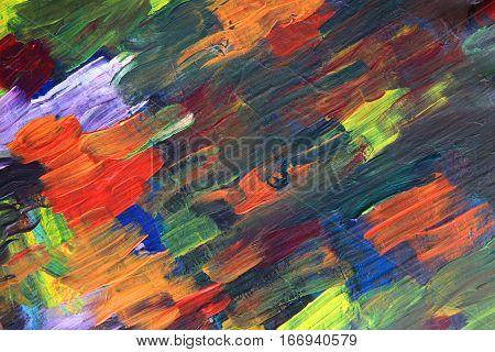 Color Palette Texture