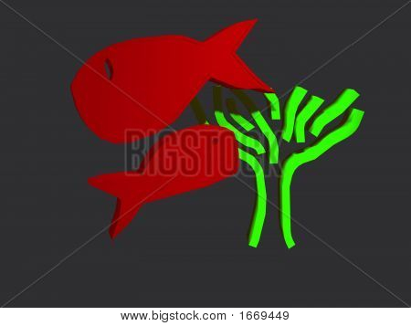 Two Fish And A Tree