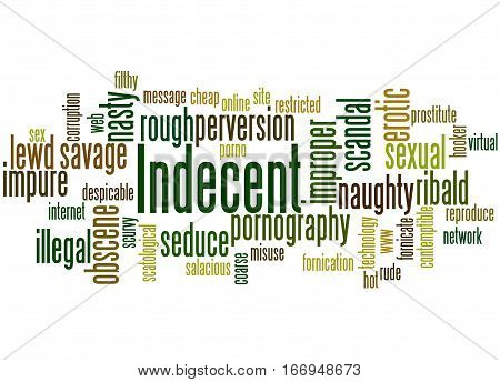 Indecent, Word Cloud Concept 8