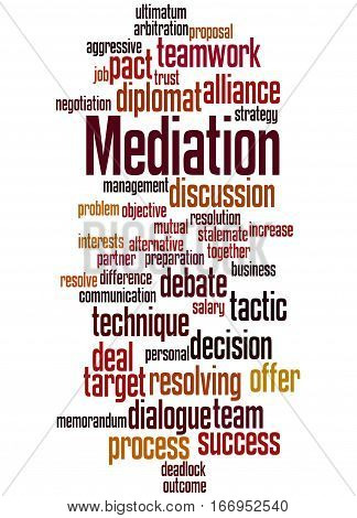 Mediation, Word Cloud Concept 6