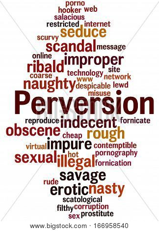 Perversion, Word Cloud Concept 5