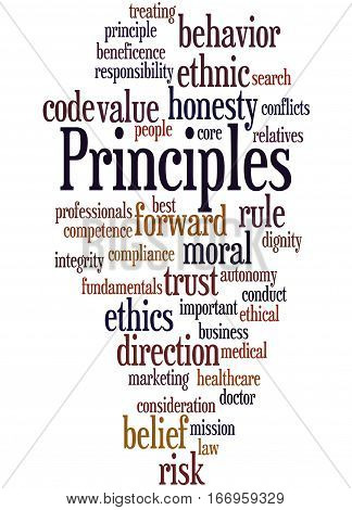 Principles, Word Cloud Concept 7