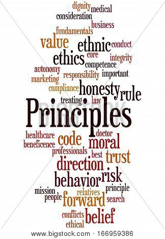 Principles, Word Cloud Concept 8