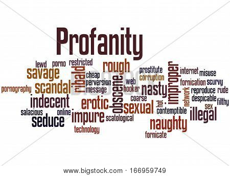 Profanity, Word Cloud Concept 3