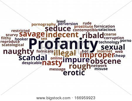 Profanity, Word Cloud Concept 6